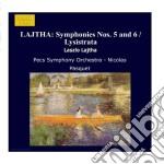 Opere orchestrali vol.6: sinfonia n.5 op cd musicale di LÁszlÓ Lajtha