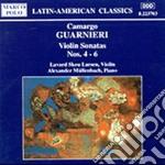 Guarnieri Camargo - Sonata X Vl N.4, N.5, N.6 cd musicale di Camargo Guarnieri