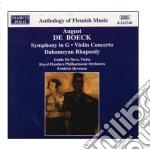 De Boeck  - Devreese Frederic Dir  /guido De Neve Vl, Royal Flanders Philharmonic Orchestra cd musicale