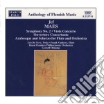 Sinfonia n.2, concerto x vla, ouverture cd musicale di Maes