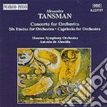 Concerto x orchestra, 6 studi x orchestr cd musicale di Aleksander Tansman