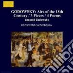 Opere x pf vol.1 (integrale): 4 poemi, t cd musicale di Leopold Godowsky