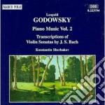 Opere x pf vol.2 (integrale): sonata n.1 cd musicale di Leopold Godowsky