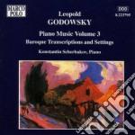 Opere x pf vol.3 (integrale): trascrizio cd musicale di Leopold Godowsky