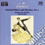 Danze e marce vol.1: opp.419, 386, 434, cd musicale di Ziehrer carl michael