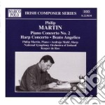 Martinu Bohuslav - Concerto X Pf N.2, Concerto X Arpa, Beato Angelico /philip Martin Pf, Andreja Malir Arpa, National Symphony Orchestra Of Ireland cd musicale di Bohuslav Martinu