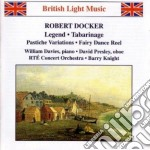 Legend, scene du bal, 3 contrasti x oboe cd musicale di Robert Docker