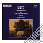 Quartetto x archi in mi min, in sib mag, cd musicale di Bella