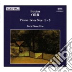 Orr /jeremy Williams Vl, Christine Jackson Vlc, John York Pf. cd musicale