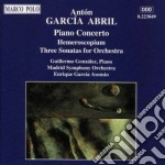 Garcia abril cd musicale