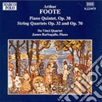 Musica da camera vol.1: quintetto con pf cd musicale di Arthur Foote