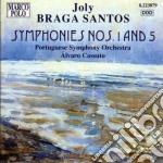 Sinfonia n.1, n.5 cd musicale di Braga santos joly