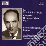 Opere per orchestra (integrale) vol.4 cd musicale di Igor Markevitch