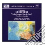 Sonata x vl e pf n.2, n.3, n.7, canao s cd musicale di Camargo Guarnieri