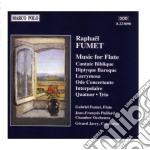 Opere x fl: cantate biblique (4 fl e vlc cd musicale di Fumet