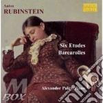 Studi op.23 (nn.1-6), barcarole (nn.1-6) cd musicale di Anton Rubinstein