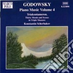 Opere x pf (integrale) vol.4: triakontam cd musicale di Leopold Godowsky