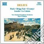 Delius Frederick - Opere X Orchestra: Paris, Brigg Fair, Eventyr, Irmelin, La Calinda cd musicale di Frederick Delius