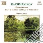 Sonata x pf n.1 op.28, n.2 op.36 cd musicale di Sergei Rachmaninov