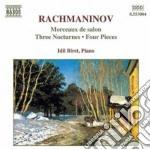 Morceaux de salon, 3 notturni, 4 pezzi cd musicale di Sergei Rachmaninov