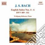 Bach J.S. - Suites Inglesi Nn.4-6 Bwv 809 > 811 cd musicale di Johann Sebastian Bach