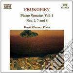 Sonate x pf (integrale) vol.1: sonata n. cd musicale di Sergei Prokofiev