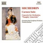 Carmen suite (dall'opera di bizet), naug cd musicale di Shchedrin rodion kon