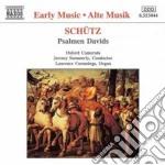 Salmi davidici cd musicale di Heinrich SchÃœtz