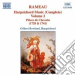 Music for harpsichord vol.2 cd musicale di Gilbert Rowland