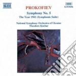 Sinfonia n.5 op.100, l'anno 1941 op.90 ( cd musicale di Sergei Prokofiev