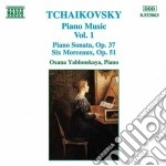 Musica x pf (integrale) vol.1: sonata op cd musicale di Ciaikovski pyotr il'