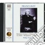 Opere x pf (integrale) vol. 3: harmonies cd musicale di Franz Liszt