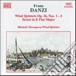 Quintetto x fiati n.1 > n.3 op.56, seste cd musicale di Franz Danzi