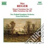 Variazioni e fuga su un tema di mozart o cd musicale di Max Reger