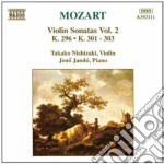 Sonate x vl vol.2: sonata n.8 k 296, n.1 cd musicale di Wolfgang Amadeus Mozart