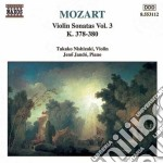 Sonate x vl vol.3: sonate nn.10 > 12 k 3 cd musicale di Wolfgang Amadeus Mozart