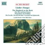 Lieder (selezione) cd musicale di Franz Schubert
