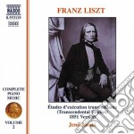 Opere x pf (integrale) vol. 2: etudes d' cd musicale di Franz Liszt