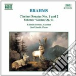 Sonatas for clarinet and p. cd musicale di BRAHMS
