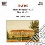 Sonate x pf vol.5: sonata n.48 hob.xvi: cd musicale di Haydn franz joseph
