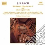 Corali kirnberger e altri corali, vol.1 cd musicale di Johann Sebastian Bach