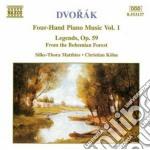 Opere x pf a 4 mani vol.1 (integrale): l cd musicale di Antonin Dvorak
