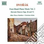 Opere x pf a 4 mani vol.2 (integrale): d cd musicale di Antonin Dvorak