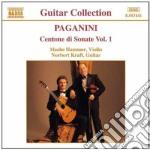 Centone di sonate vol.1: sonata i > vi cd musicale di Niccolo' Paganini