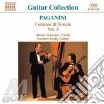 Centone di sonate vol.3 cd musicale di PAGANINI