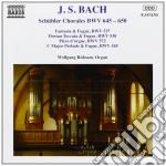 Corali sch????bler bwv 645-650, fantasia e cd musicale di Johann Sebastian Bach