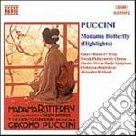 Madama butterfly (estratti) cd musicale di Giacomo Puccini