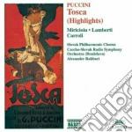 Tosca (estratti) cd musicale di Giacomo Puccini