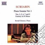 Sonate x pf (integrale) vol.1: sonata n. cd musicale di Alexandre Scriabin
