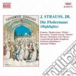 Il pipistrello (estratti) cd musicale di Johann Strauss